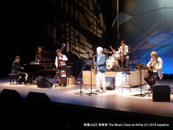 本間克範Quintet@秋葉JAZZ 音楽洞 The Music Cave at Akiha