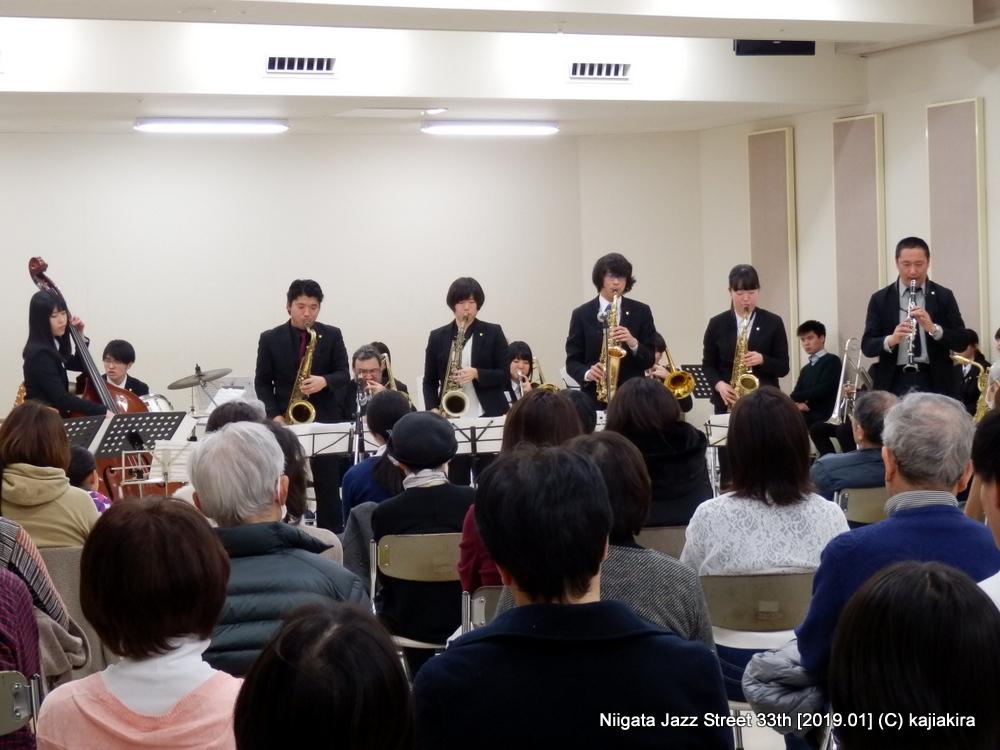 Jump for joy@音楽文化会館練習室10「第33回新潟ジャズストリート」20190119