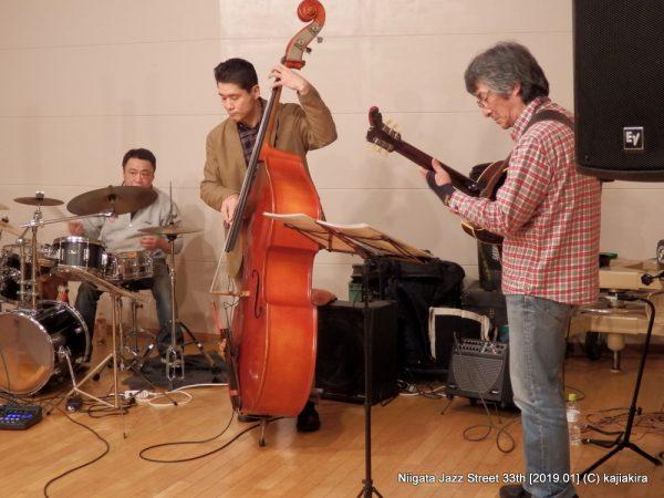 AloneTogether@音楽文化会館 練習室13「第33回新潟ジャズストリート」20190119