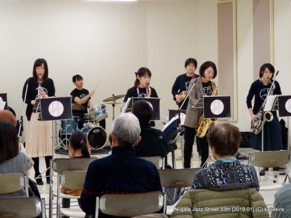 JUST FINE DAY!@音楽文化会館練習室10「第33回新潟ジャズストリート」20190119
