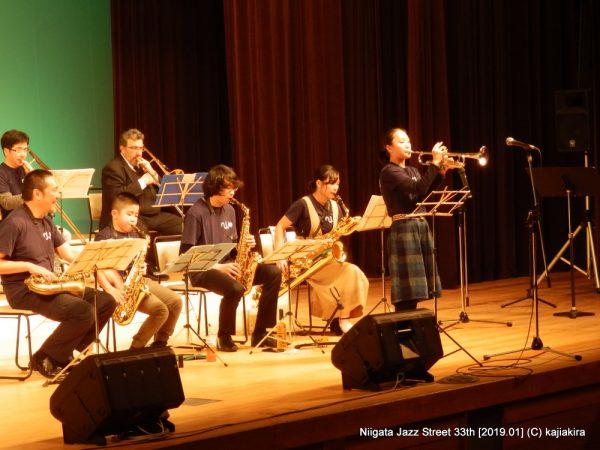 新潟ジュニアジャズオーケストラ@音楽文化会館ホール「第33回新潟ジャズストリート」20190119