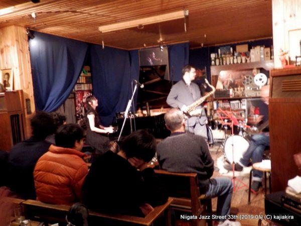 Jam Session(非公開)@Jazz Flash「第33回新潟ジャズストリート」20190119