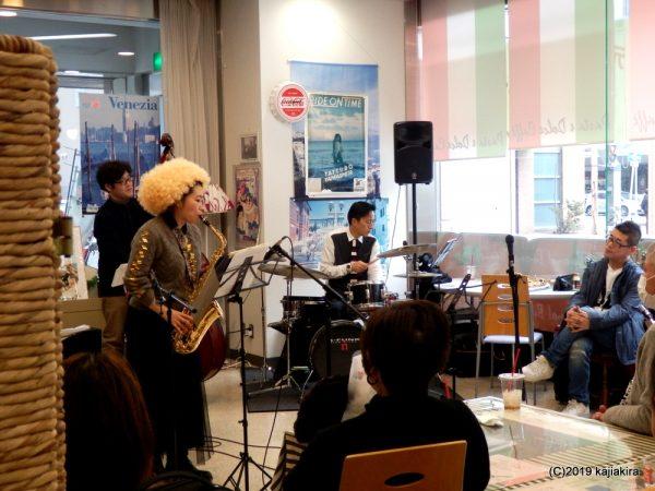 Niigata Yossy dessy's Saxophone Recital Winter@新潟国際情報大学 新潟中央キャンパス1F
