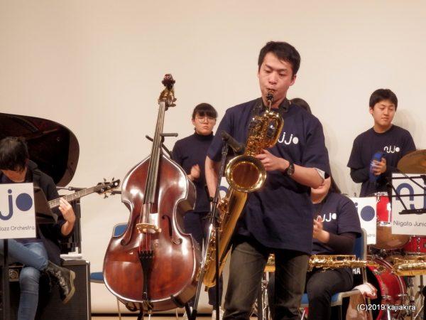 新潟ジュニアジャズオーケストラ定期演奏会(2019春)@東区プラザ