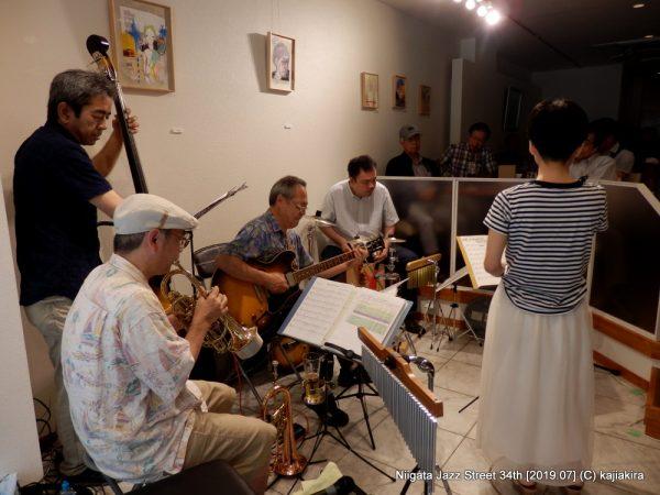 古沢和良カルテット with ヒトミ@Salix(古町通6)☆第34回新潟ジャズストリート