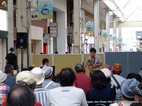 Cross Talk@古町6ストリート(古町通6)☆第34回新潟ジャズストリート