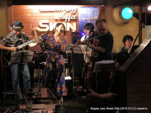 Nogenomy 5 +1@ジャズ喫茶スワン(西堀通4)☆第34回新潟ジャズストリート