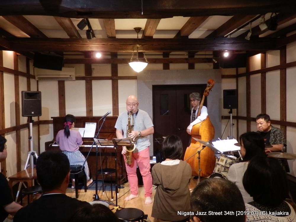 Blue moon cats@蔵織(西堀前通1)☆第34回新潟ジャズストリート