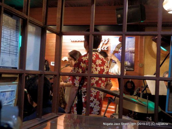 U-BOAT@ジャズ喫茶スワン(西堀通4)☆第34回新潟ジャズストリート