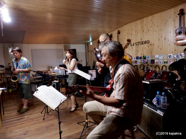 Tuesday JAZZ Session @LJ Studio[加茂市]2019.07.23