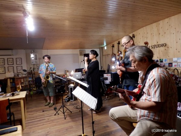 Tuesday JAZZ Session @LJ Studio[加茂市]2019.07.23