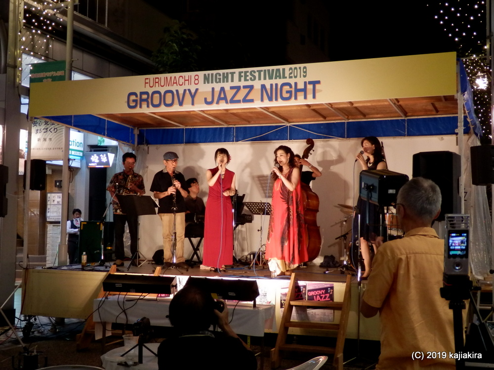 古町8Night Festival Groovy Jazz Night 2019