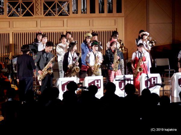 敬和学園高校器楽部 Jazz Hornets 太夫浜コンサート 2019.10.25