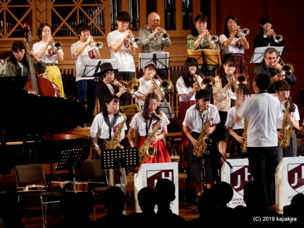 敬和学園高校器楽部 Jazz Hornets 太夫浜コンサート