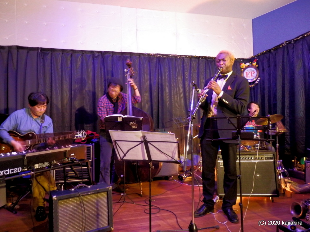 Jazz Session スペシャルゲスト:Isaiah Richardson Jr【Flowerpop(新潟市東区)】
