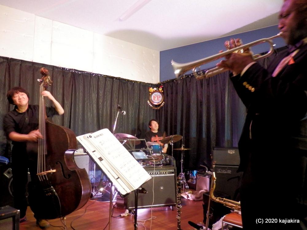 Jazz Session スペシャルゲスト:Isaiah Richardson Jr【Flowerpop(新潟市東区)】