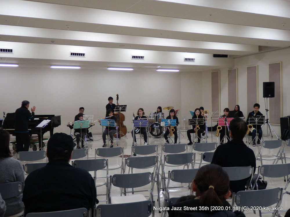 エンドル MUSIC SPECIAL[音楽文化会館 練習室10]第35回新潟ジャズストリート