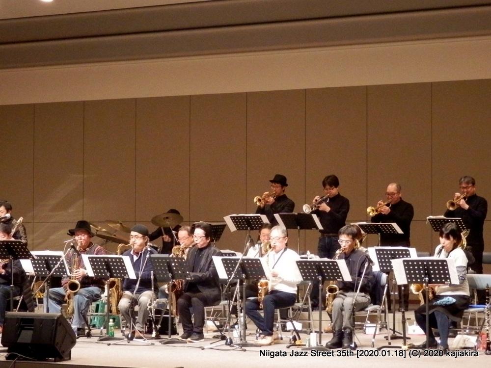 Blue Note Jazz Orchestra[市民プラザ]第35回新潟ジャズストリート