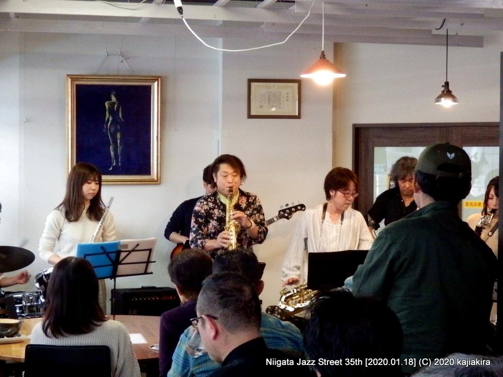 MPO(見附ポップスオーケストラ)[カフェ りんく]第35回新潟ジャズストリート