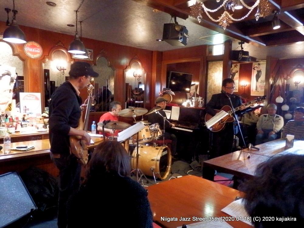 Blueswalk[You&I(西堀前通9)]第35回新潟ジャズストリート