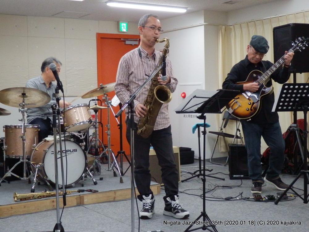 今タクオ カルテット[柳都オレンジスタジアム 3F 3CDスタジオ]第35回新潟ジャズストリート