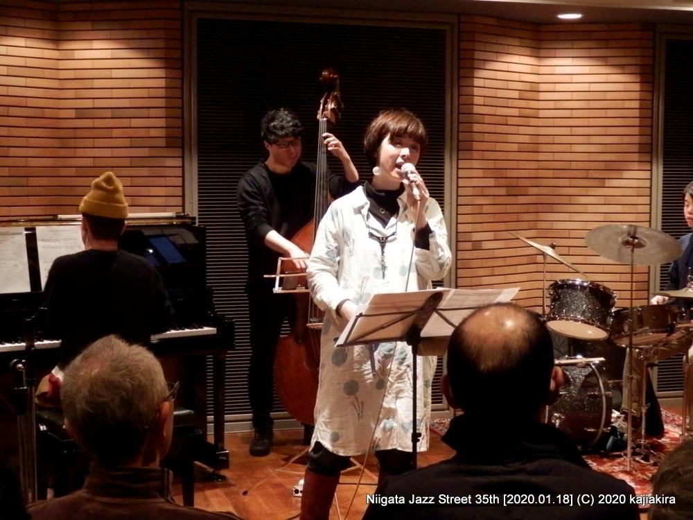 下田まりこQuintet【福島】[音楽文化会館 練習室12]第35回新潟ジャズストリート