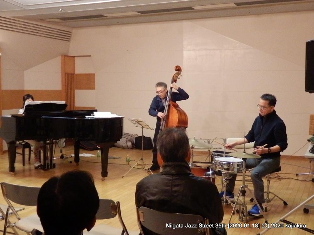 Neco Trio[音楽文化会館 練習室13]第35回新潟ジャズストリート