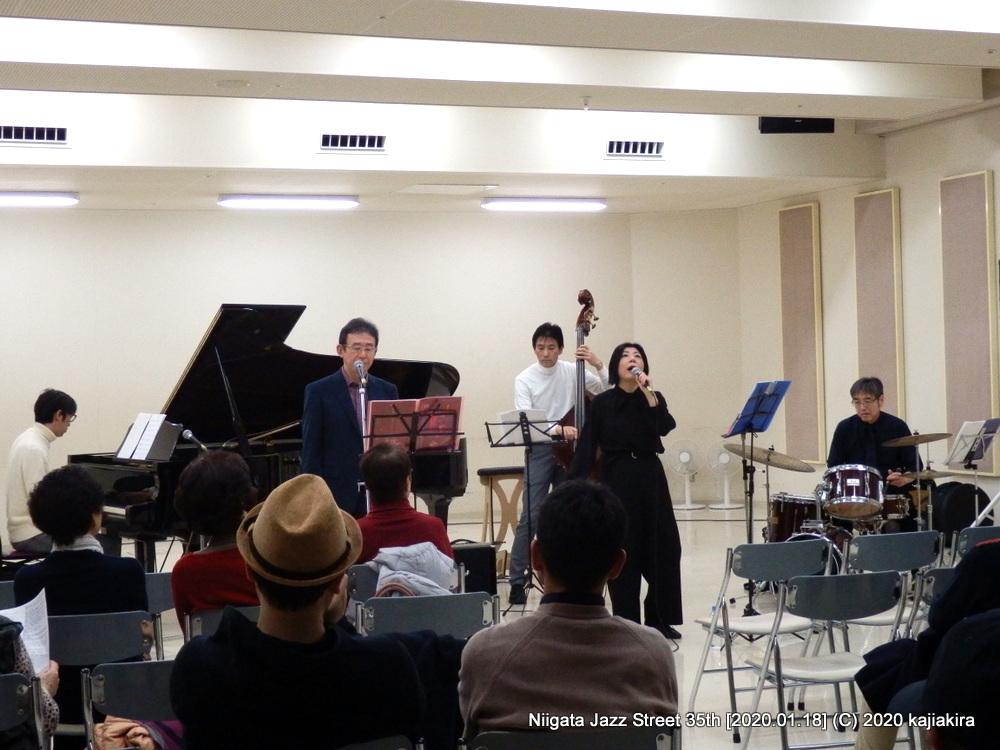 W[音楽文化会館 練習室10]第35回新潟ジャズストリート