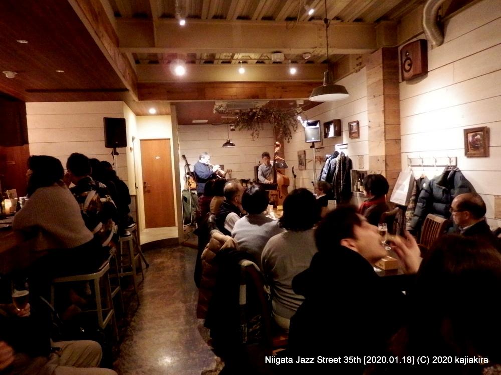 細木&東play standards[Italian Restaurant LIFE]第35回新潟ジャズストリート