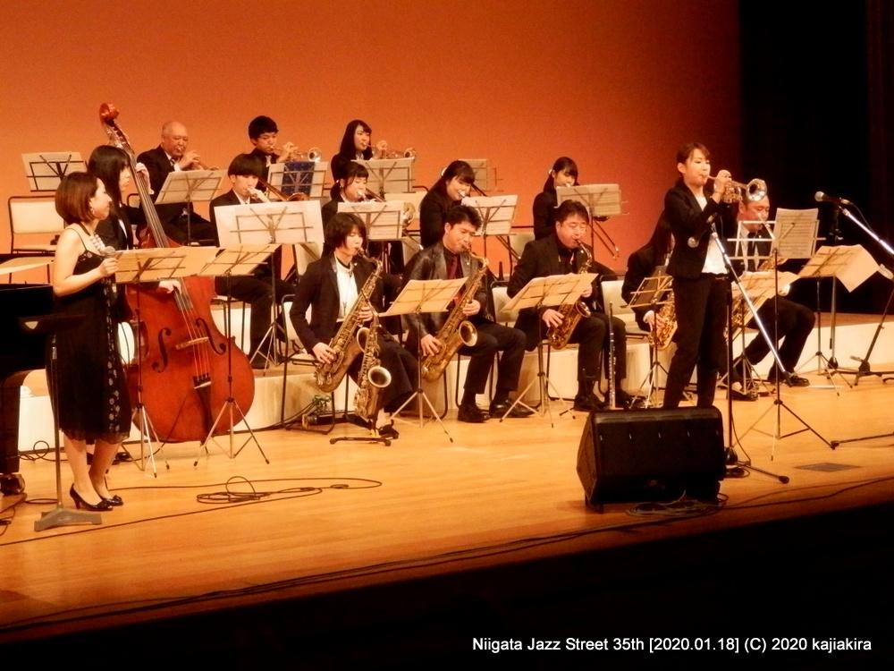 Jump for Joy[音楽文化会館 ホール]第35回新潟ジャズストリート
