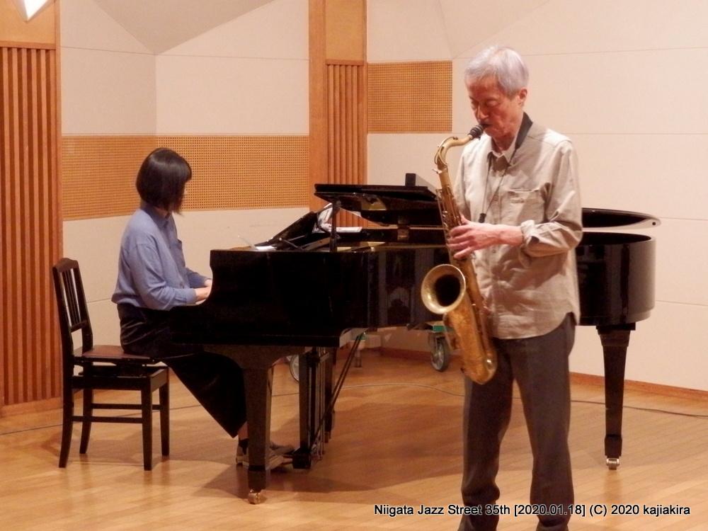 Duo三昧【福島】[音楽文化会館 練習室13]第35回新潟ジャズストリート