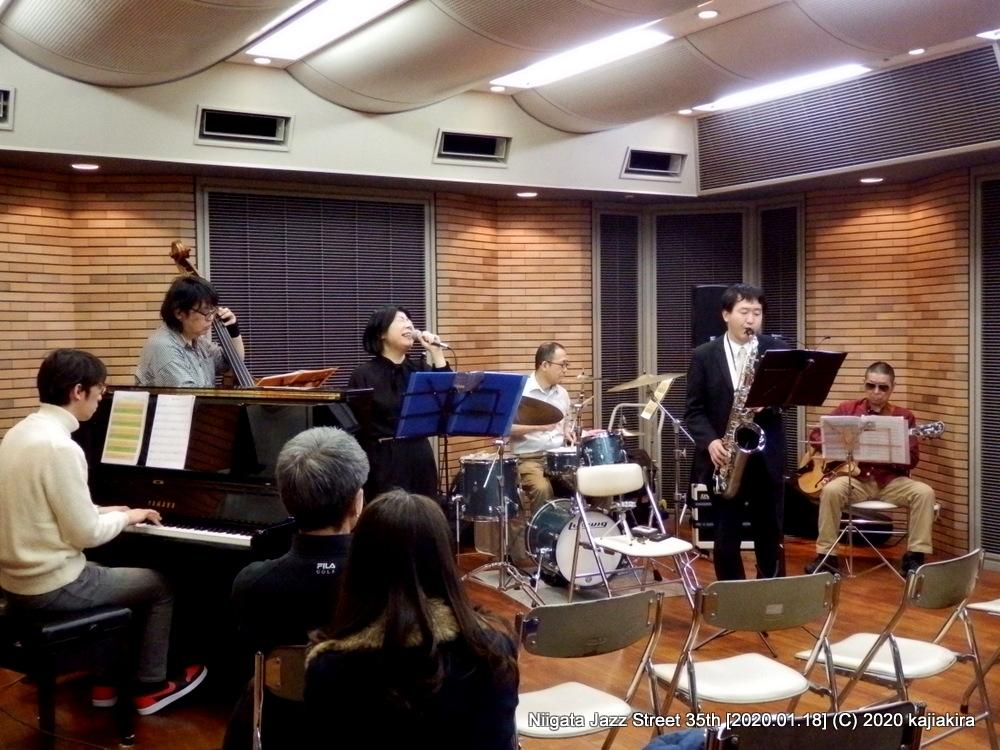 シュガームーン[音楽文化会館 練習室12]第35回新潟ジャズストリート